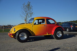 vw super beetle baja custom classic volkswagen beetle classic   sale
