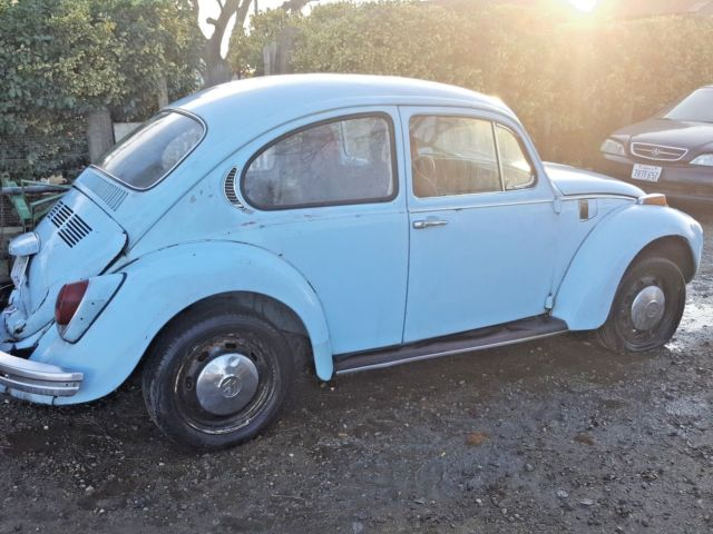 1971 VW Volkswagon Beetle Bug Baby Blue With Extra Parts