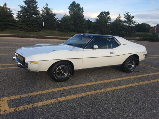 1972 Amc Javelin Sst White Original Unrestored 360