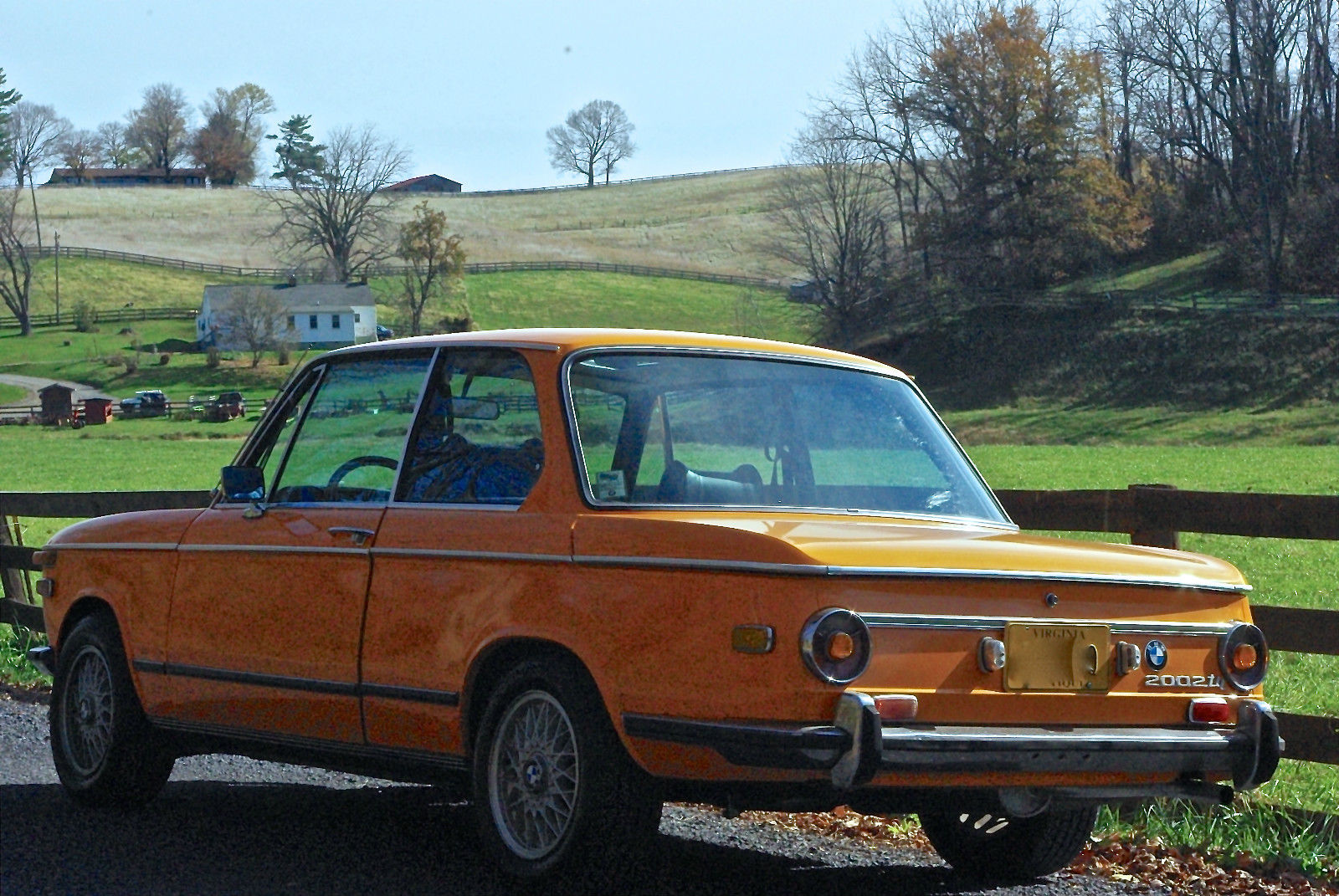 BMW 2002 Tii For Sale >> 1972 BMW 2002tii Colorado Orange in Great Condition ...