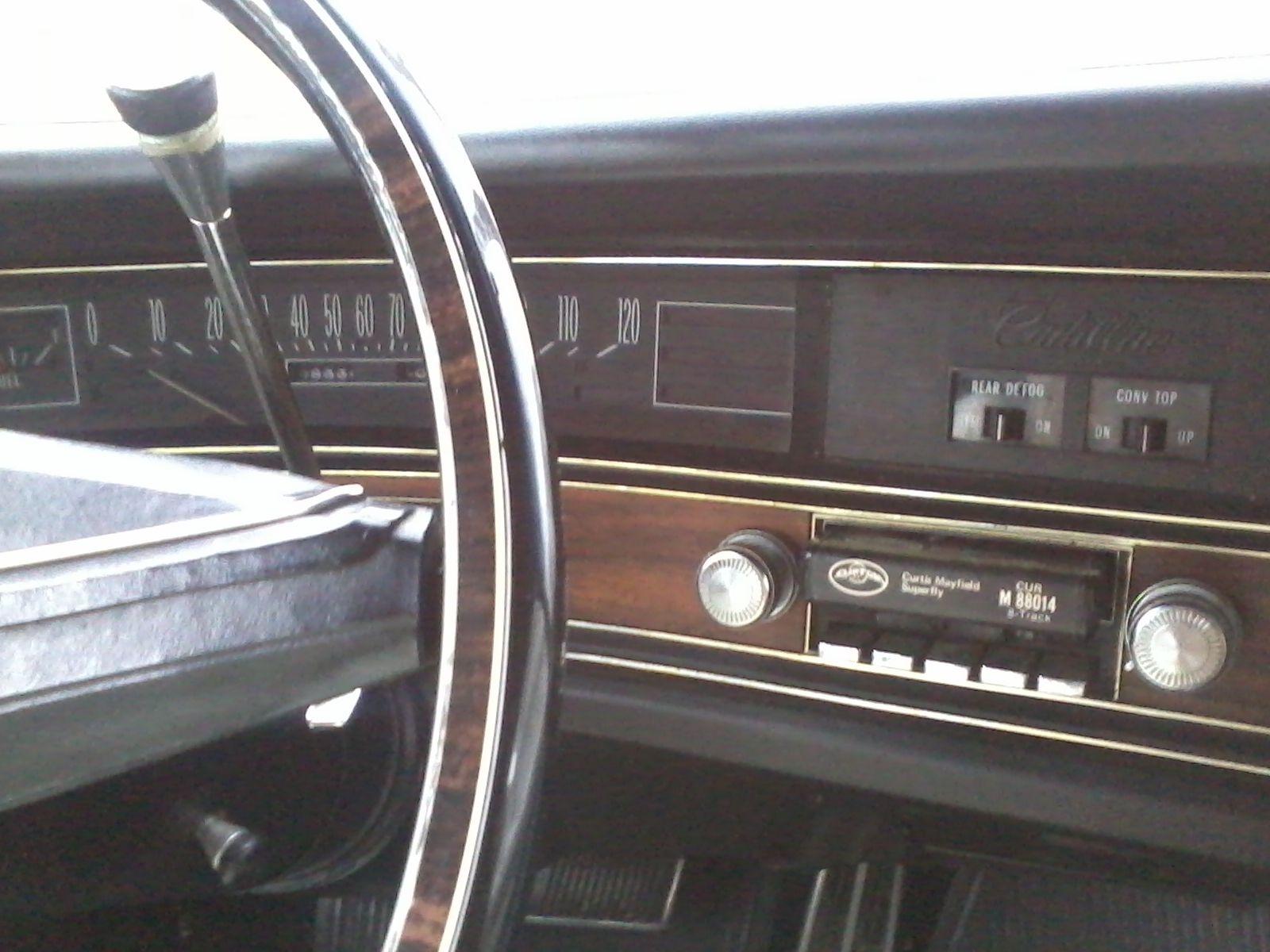 1972 Cadillac Fleetwood Eldorado Convertible Drop Top
