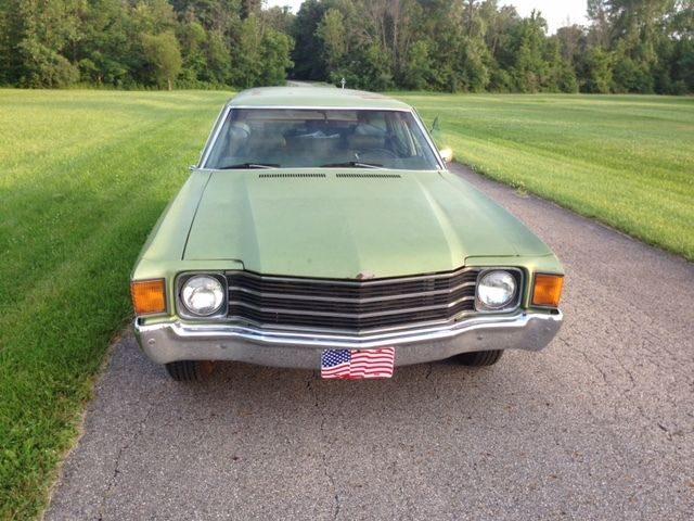 1972 CHEVELLE GREEN BRIER STATION WAGON BIG BLOCK 454 DRIVER 1970 1972 - Classic Chevrolet ...