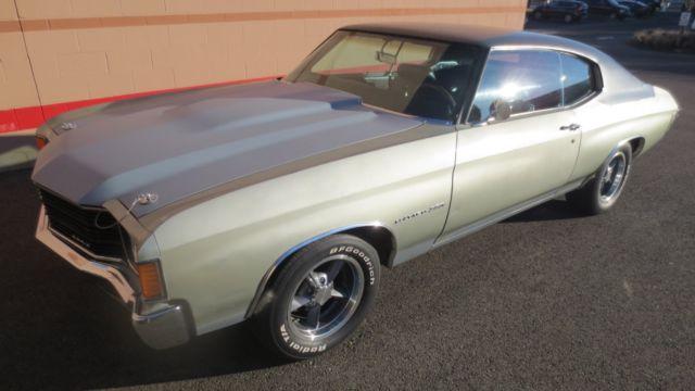1972 Chevelle Malibu Classic Muscle Car Vintage Rare Hot