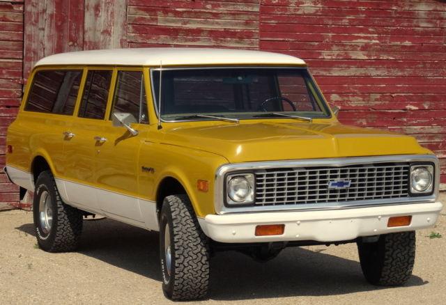 1972 chevrolet 3 door suburban 4x4 rare fully a c for 10 door suburban