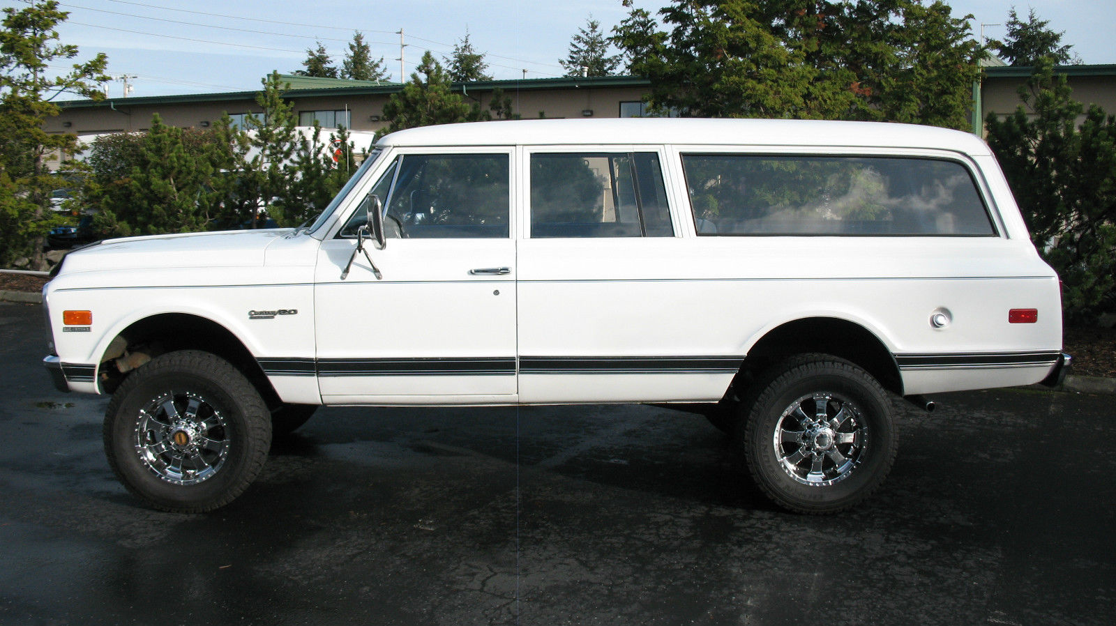 1972 Chevrolet 3 4 Ton 4x4 Suburban Classic Chevrolet Suburban 1972 For Sale