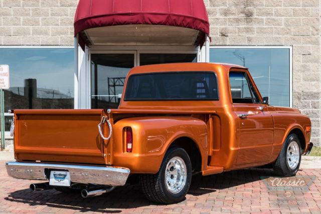1972 Chevrolet C10 Stepside Shorty 350 V8 4 Speed