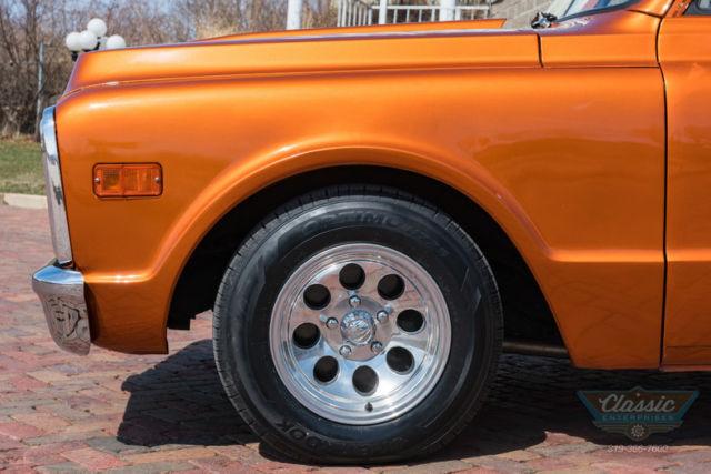 Chevrolet C Stepside Shorty V Speed Automatic Pickup Truck Copper