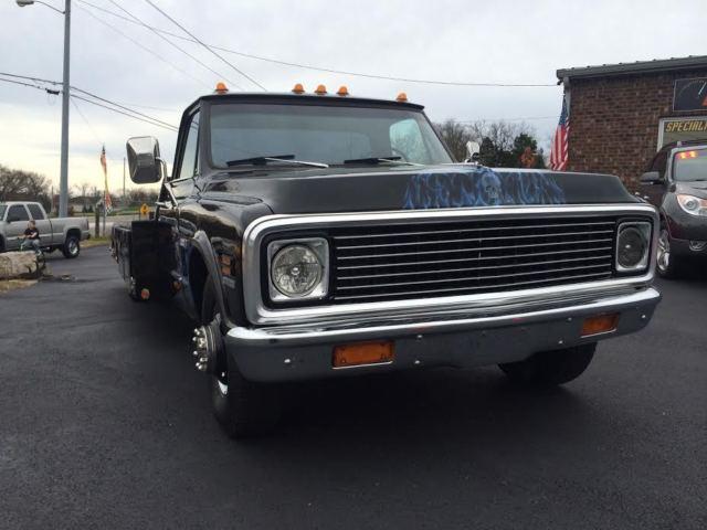 Chevrolet C Ton Ramp Truck Hauler on 1972 Chevy Pickup Truck Sale