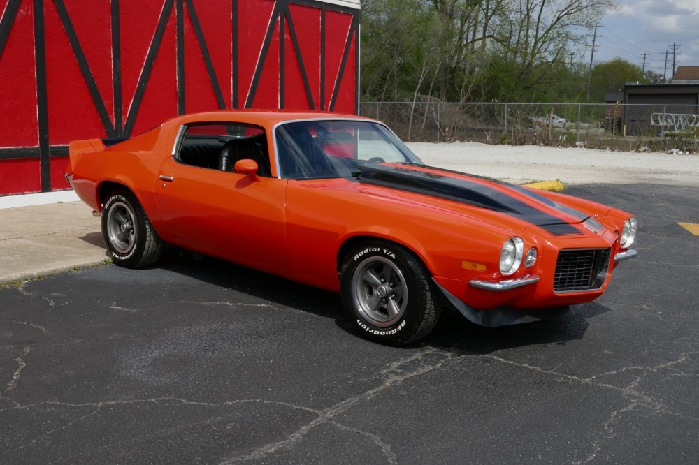 1972 Chevrolet Camaro Split Bumper 383 With 4 Speed SEE