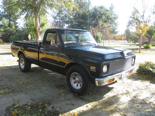 1972 chevrolet chevy truck c20 v8 manual transmission 1968 1969 1970 1971 classic. Black Bedroom Furniture Sets. Home Design Ideas
