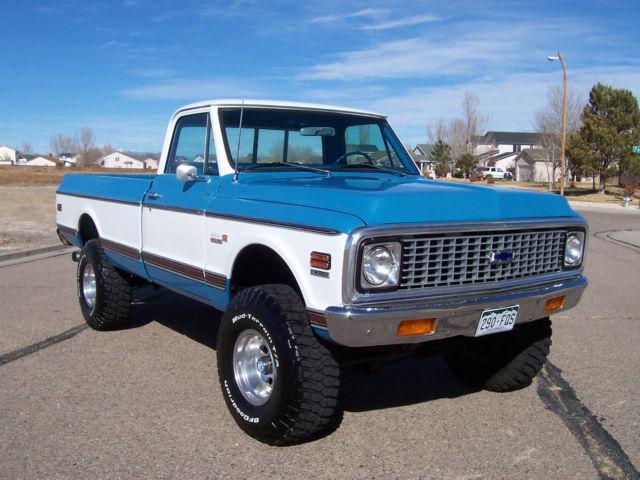 1972 Chevrolet K10 4X4, Cheyenne Super, Restored, Rust ...