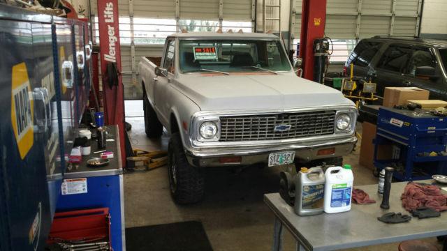 Used Tires Portland >> 1972 Chevrolet K10 Chevy Truck 4x4 CHEYENNE LWB ...