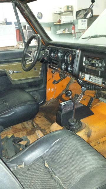 1972 Chevrolet K10 Chevy Truck 4x4 Cheyenne Lwb