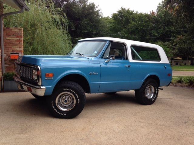 Chevy Blazer 4x4 >> 1972 Chevrolet K5 Blazer 4x4 350 Auto 5.7L V8 Excellent Driver - Classic Chevrolet Blazer 1972 ...