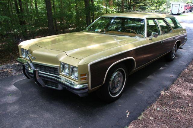 Used Cars Langley >> 1972 Chevrolet Kingswood Estate Wagon Survivor Barn Find ...