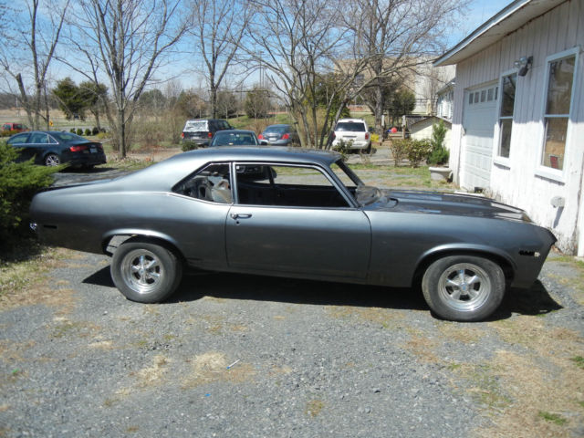 1972 Chevrolet Nova project  Clean title  With options for