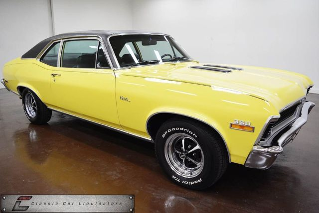 1972 Chevrolet Nova Ss 4 Speed Classic Chevrolet Nova