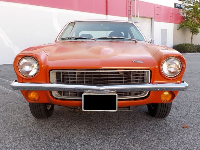 1972 chevrolet vega 2300 350 chevy v8 turbo 350 trans v8 vega factory orange classic. Black Bedroom Furniture Sets. Home Design Ideas