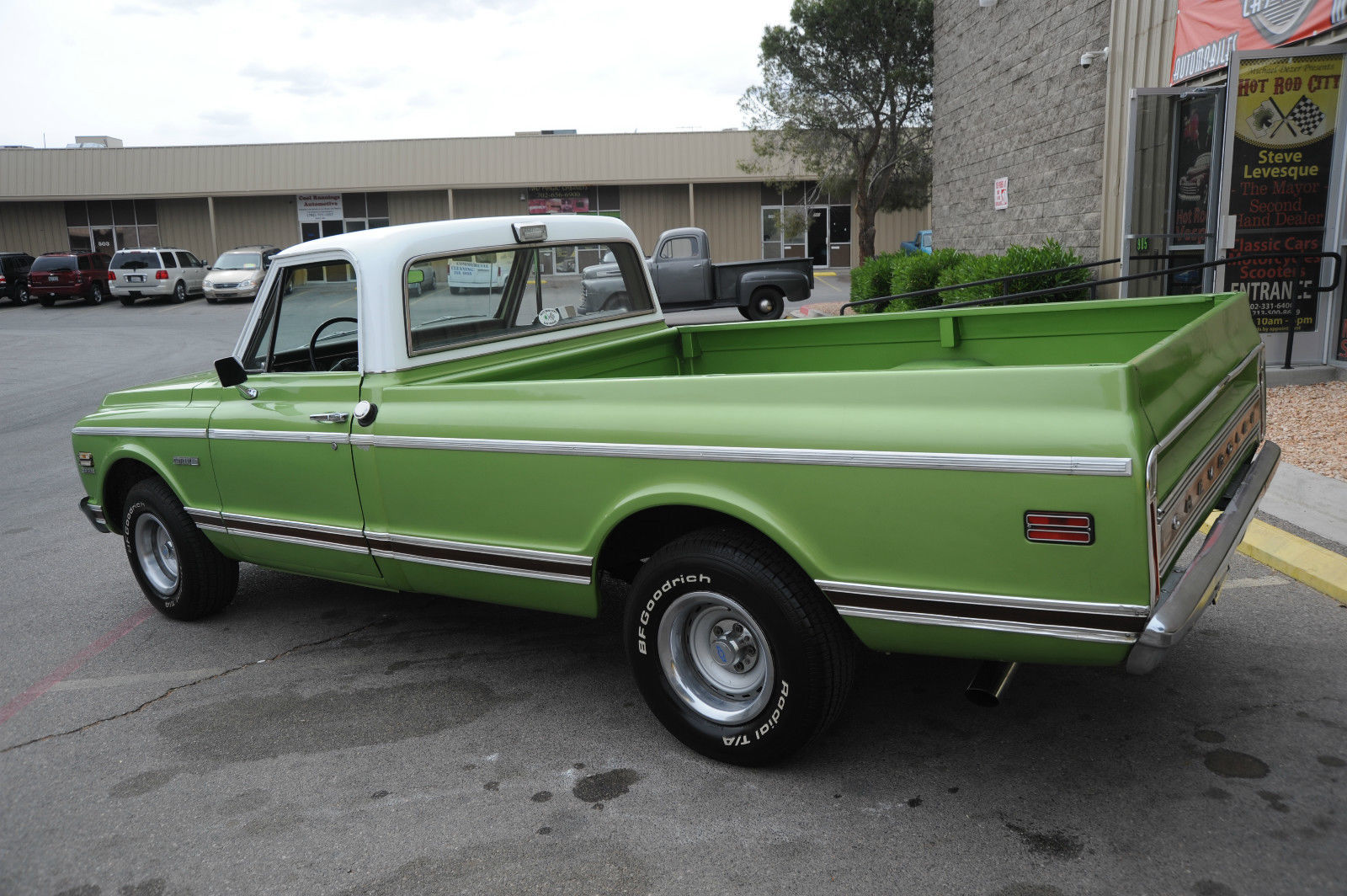 1972 chevy c10 long bed truck w amazing updated 350 motor for 350 chevy truck motor