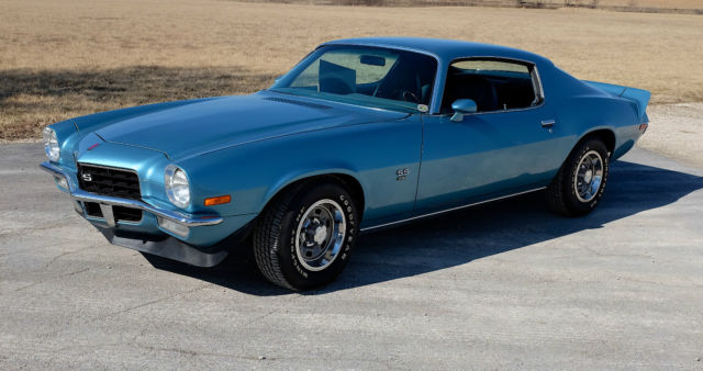 1972 Chevy Camaro Ss 396 Museum Quality 1 Of 970 Made Last Camaro Big Block Classic