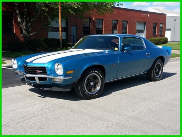 1972 chevy camaro z28 real 4spd m22 rock crusher excellent restoration classic chevrolet. Black Bedroom Furniture Sets. Home Design Ideas