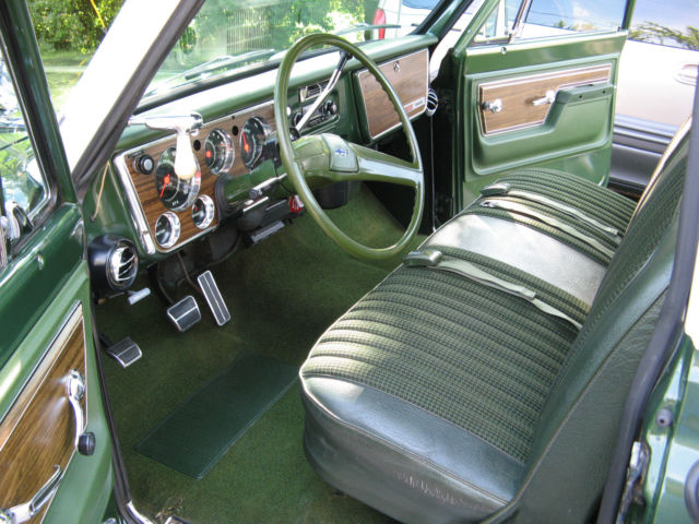 Chevy C Short Bed Step Side Truck Original Paint Patina V Hot Rod furthermore  as well  likewise Chevy C Long Bed Truck W Amazing Updated Motor Ac Ps Pb Stereo further . on 1972 c10 chevy truck green for sale