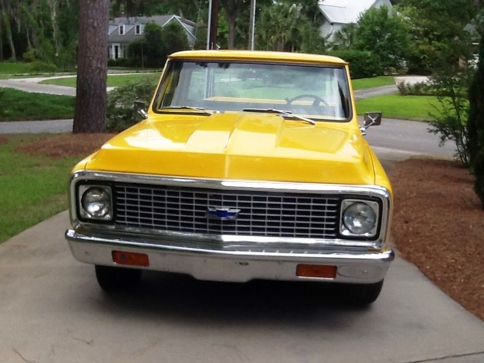 1972 chevy truck for sale by autos weblog. Black Bedroom Furniture Sets. Home Design Ideas