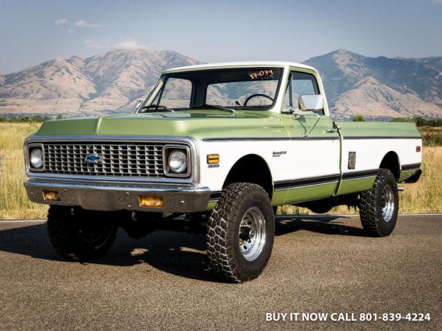 1972 Chevy K20 Truck Custom Deluxe 380HP 350 V8, K SHOW DRIVER OR