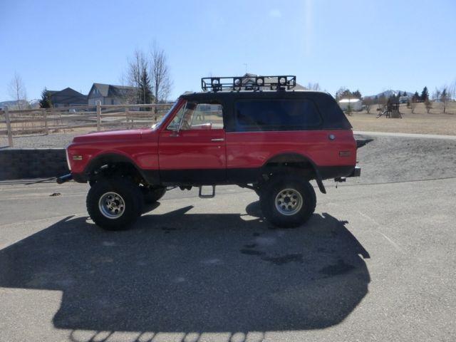 Chevy K Blazer X Custom Lifted No Reserve