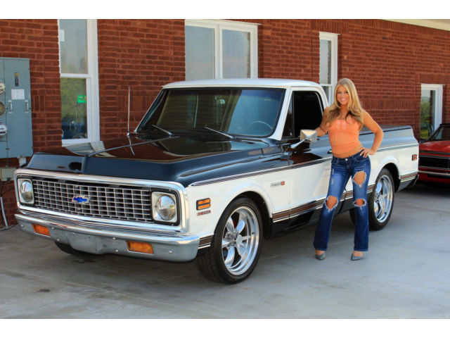 1972 Chevy Super Cheyenne Holiday Sale Bb Auto Ps Power Disc