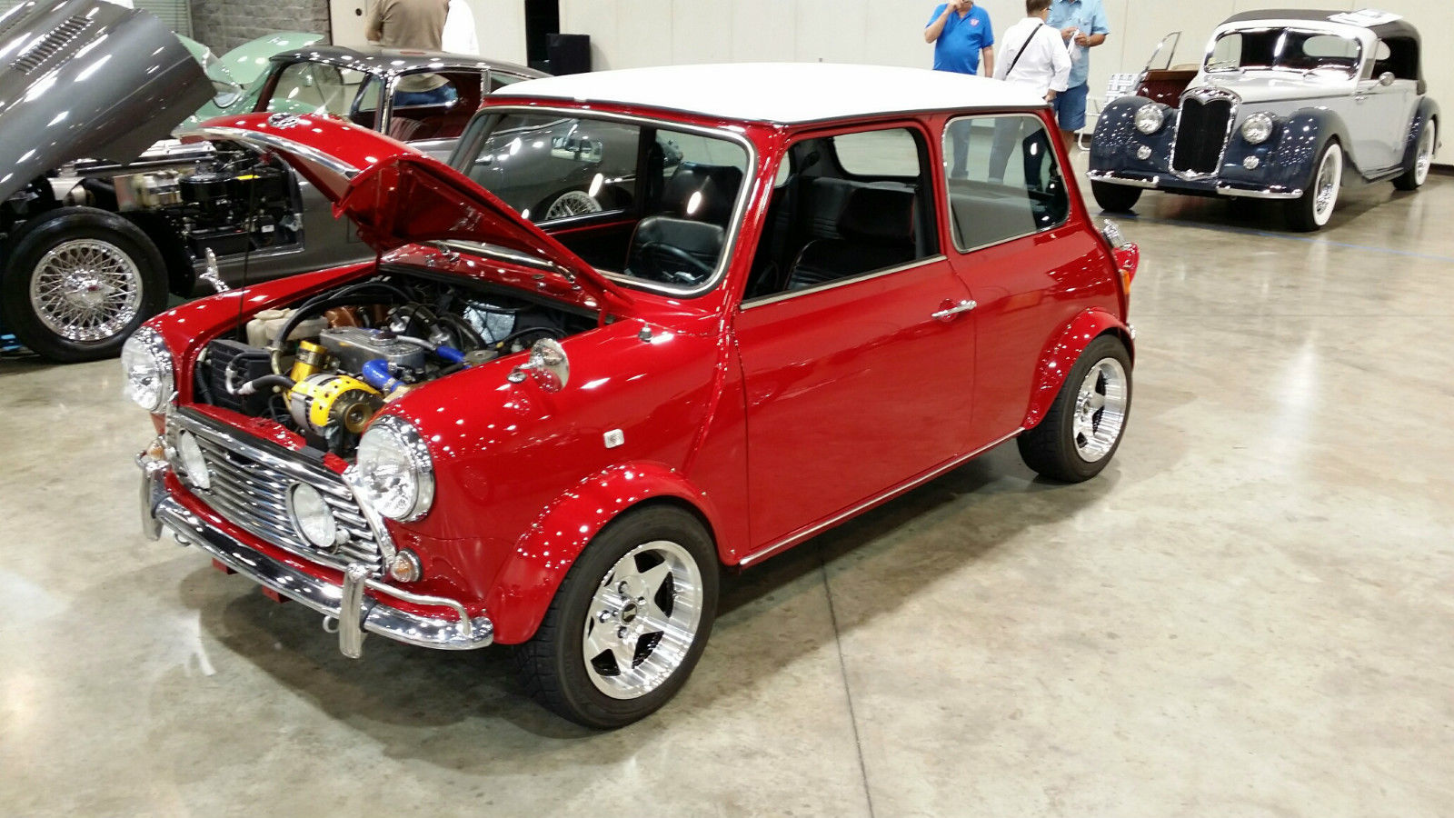 1972 Classic Mini Cooper Left Hand Drive With A C And