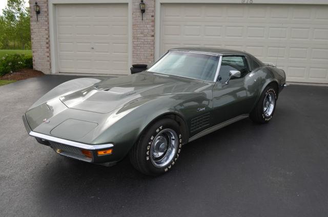 1972 Corvette Stingray, 454 Big Block, M21 4-Speed, True ...