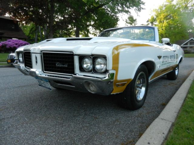 1972 cutlass supreme convertible indy 500 hurst olds pace car tribute classic oldsmobile. Black Bedroom Furniture Sets. Home Design Ideas