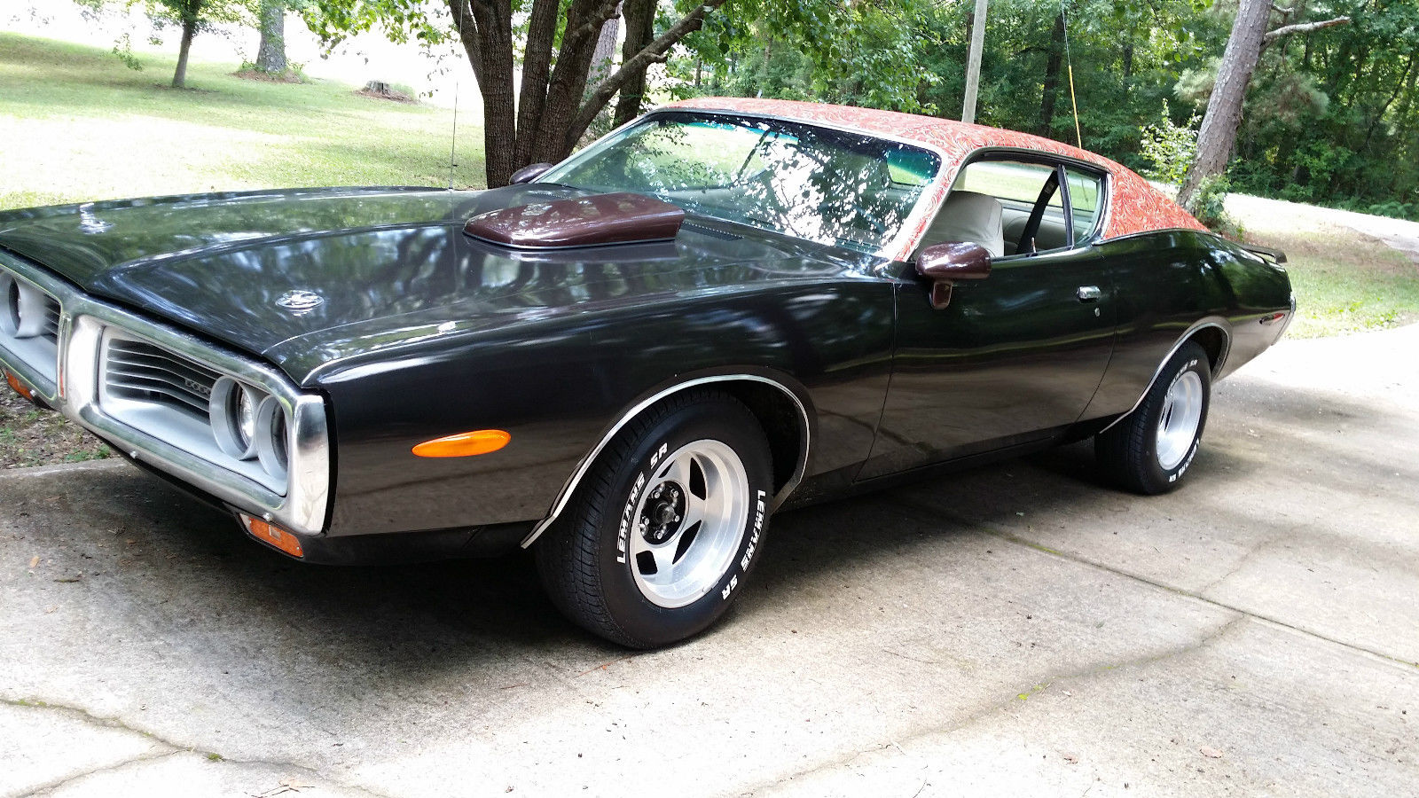 How To Sell A Car Without Title >> 1972 Dodge Charger 440 slap stick with mod top - Classic Dodge Charger 1972 for sale