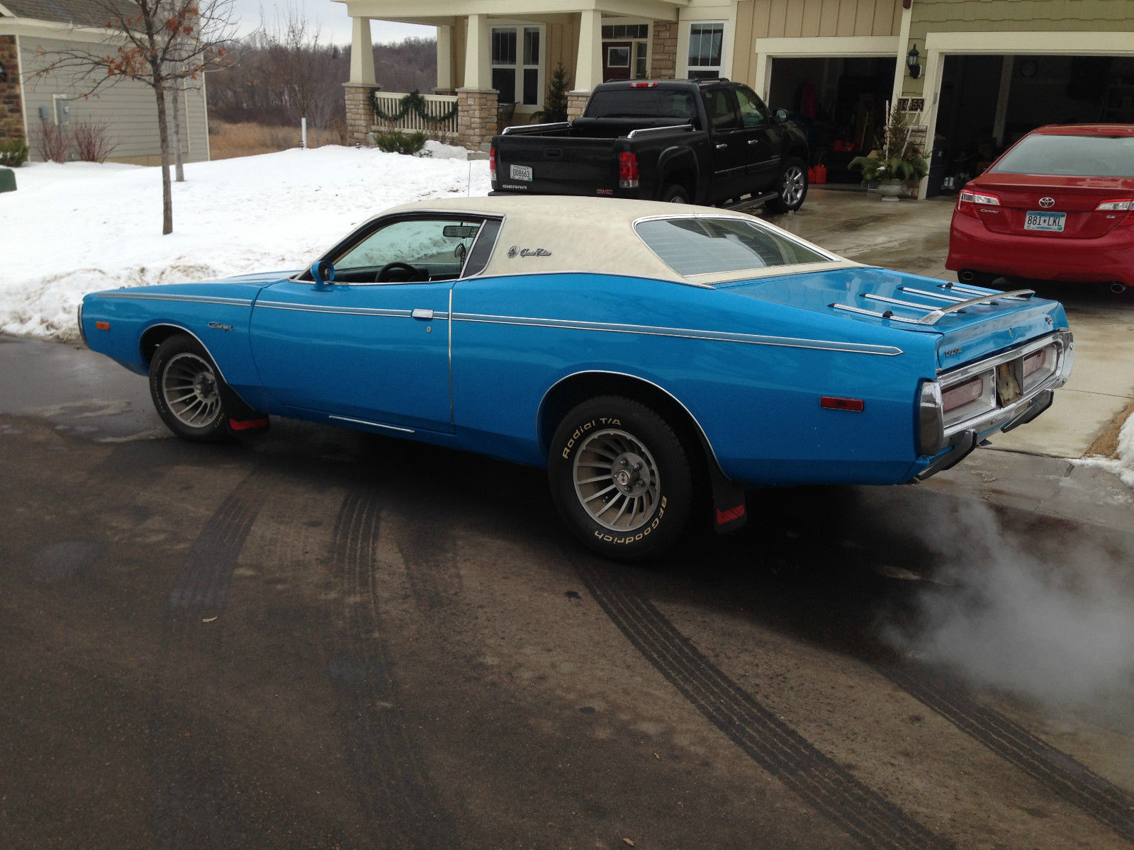 1972 Dodge Charger Se 400 Big Block Garage Barn Find