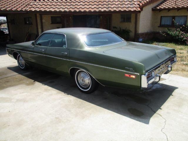 1972 Dodge Polara 4 Door Hardtop Classic Dodge Polara