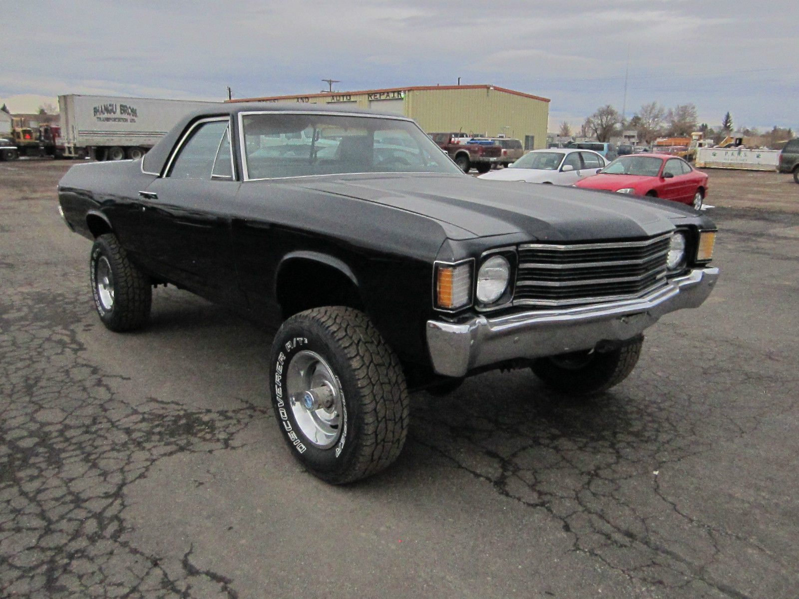 1972 el camino 4x4 new paint classic chevrolet el camino. Black Bedroom Furniture Sets. Home Design Ideas