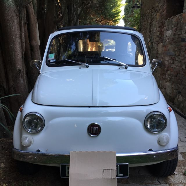1972 fiat 500 located in southern france near st tropez no bondo solid body classic fiat. Black Bedroom Furniture Sets. Home Design Ideas