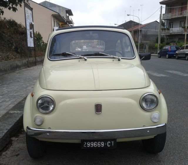 Classic Fiat 500 1972 For Sale