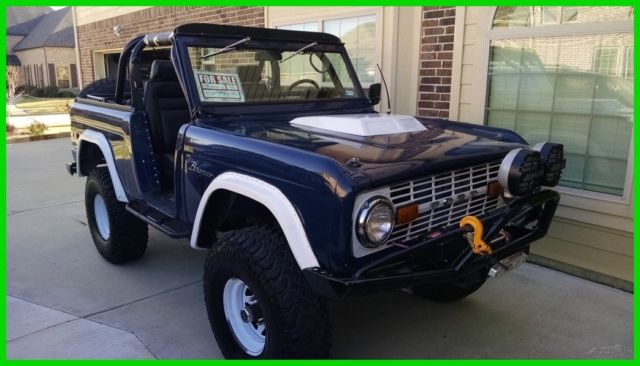 1972 ford bronco used manual 39 72 75048 fuel injected arb locker rear classic ford bronco 1972. Black Bedroom Furniture Sets. Home Design Ideas