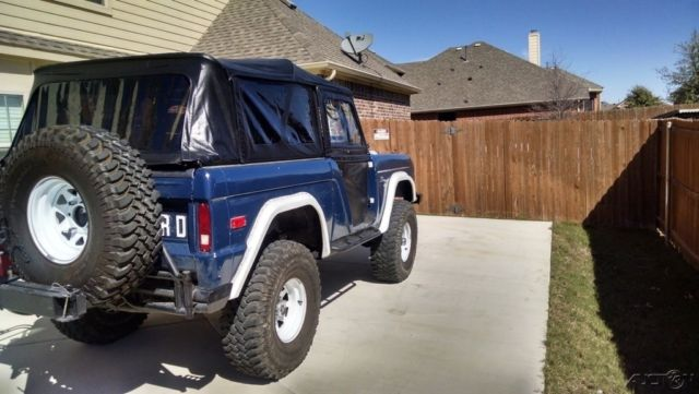 1972 Ford Bronco Used Manual '72 75048 Fuel Injected, ARB ...