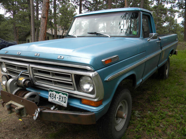 1972 F250 4x4 For Sale On Colorado Autos Post