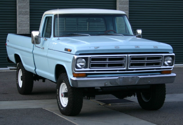 Find car color by vin number - 1972 Ford F250 Ranger High Boy 4wd Classic Ford F 250 1972 For Sale
