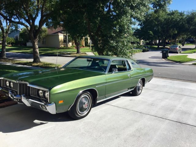 1972 ford galaxie 500 low mileage price dropped. Black Bedroom Furniture Sets. Home Design Ideas