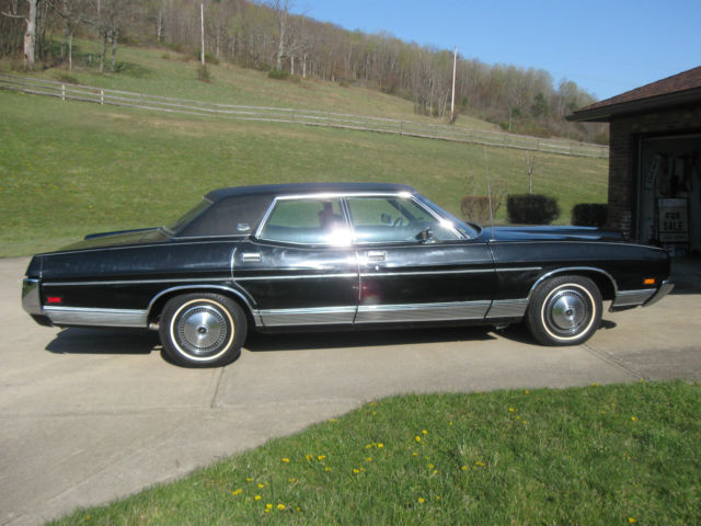 1972 Ford Ltd Brougham Galaxi Classic Antique Sedan 429cid