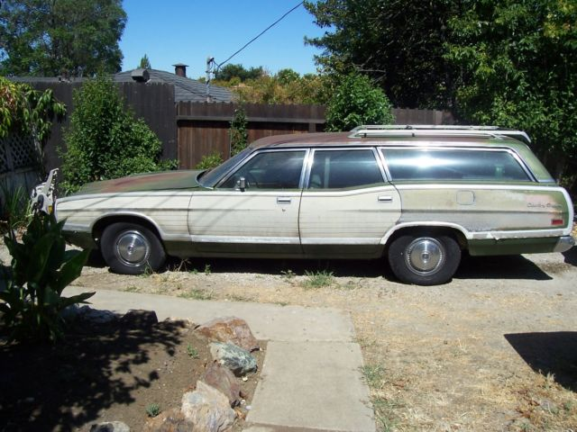 Used Tires San Jose >> 1972 Ford LTD Country Squire Station Wagon runs good ...