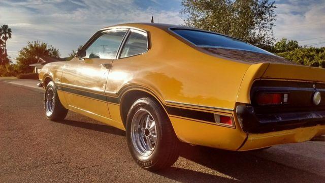 1972 Ford Maverick Quot Real Quot Grabber All Original Amp Matching