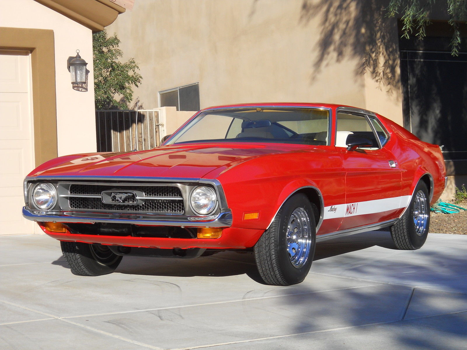 1972 ford mustang fastback mach 1 clone
