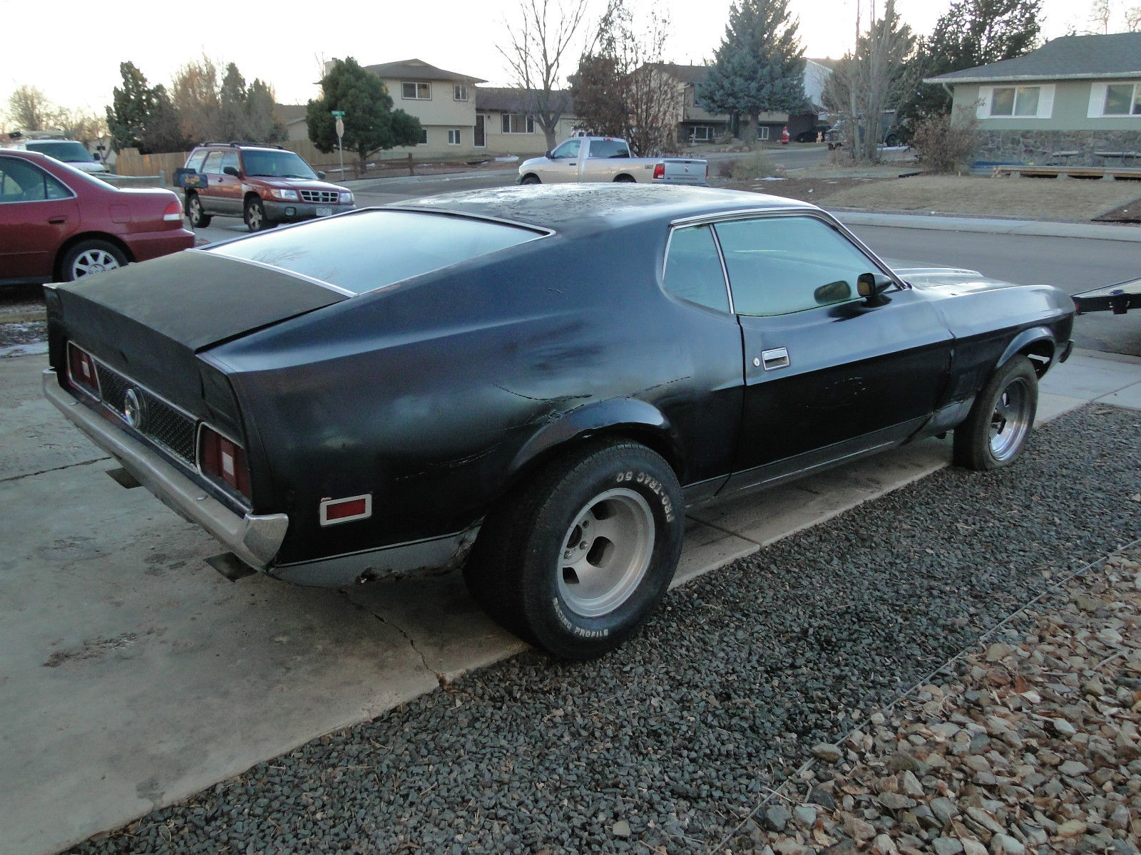 1972 Ford Mustang Mach 1 Q Code 351 4v Sportsroof 71 73