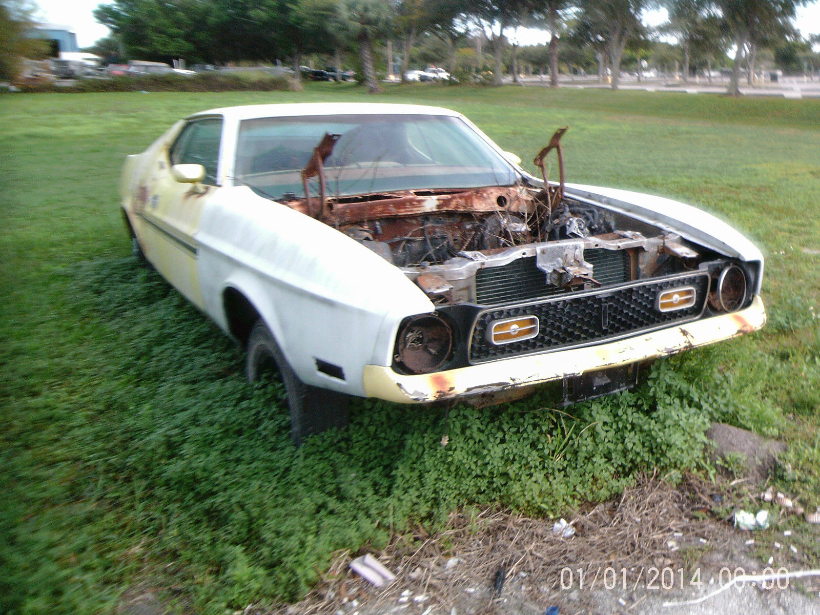 1972 ford mustang mach i fastback 2 door 5 8l